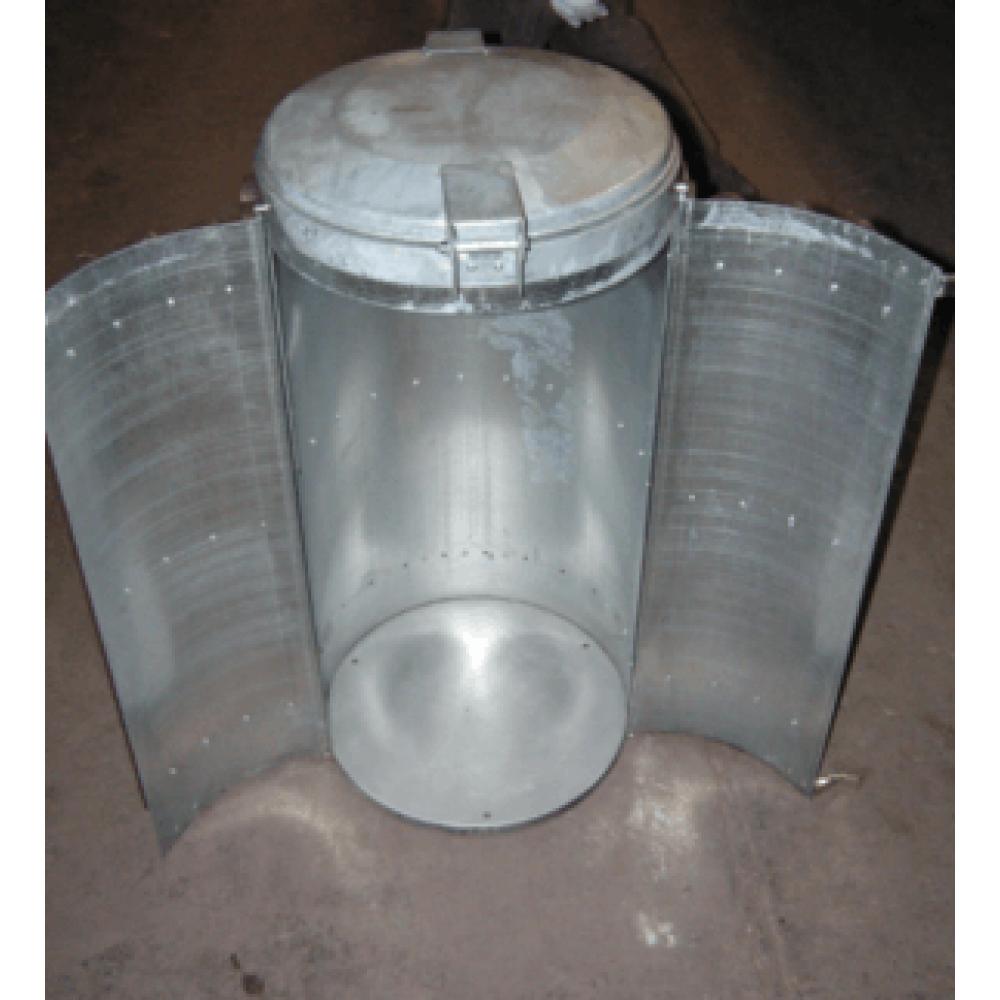 Bac à Déchets COLOR 130 Litres En Plastique Recyclé