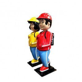 ZAK et ALIX - Figurines Ecoles nouvelle génération