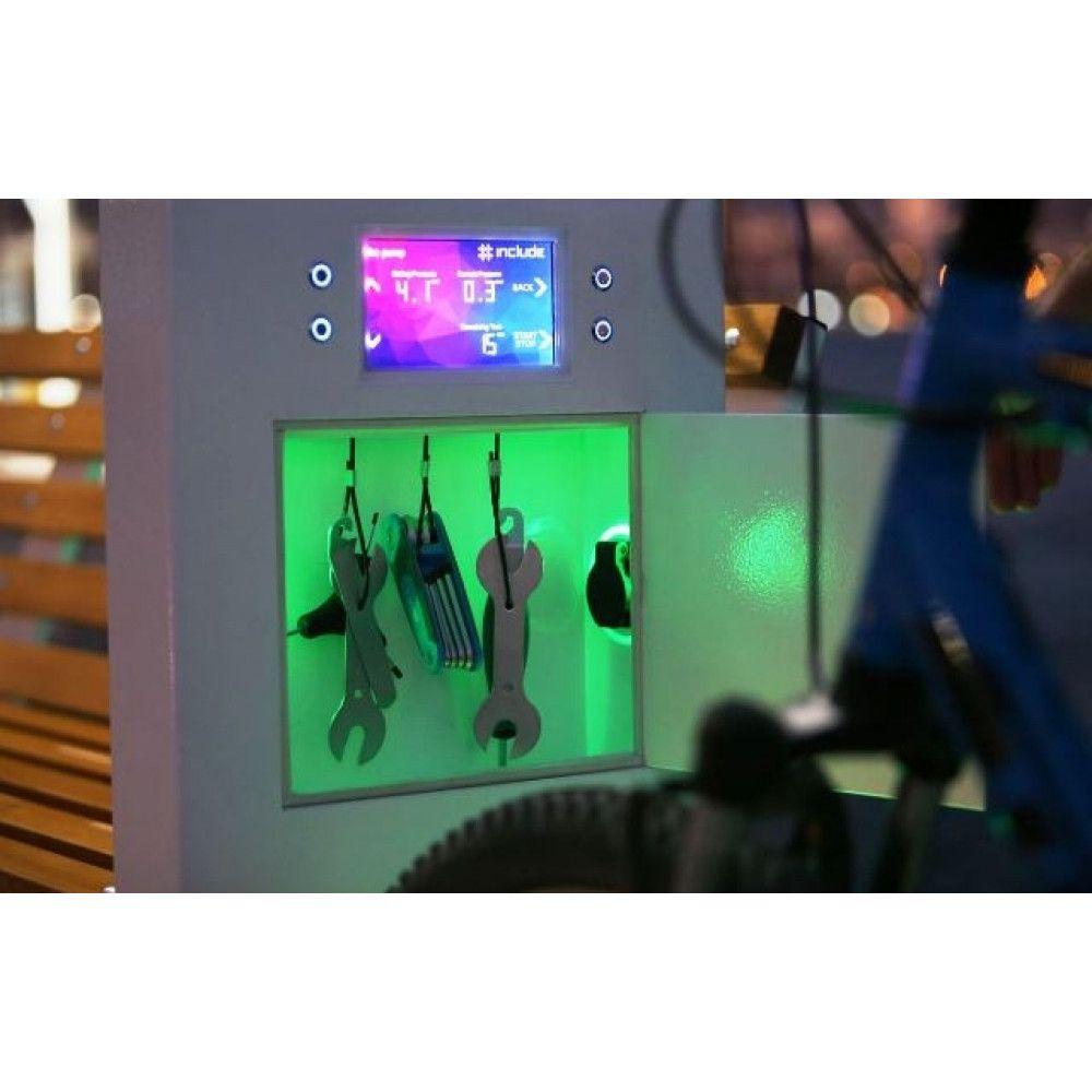 Banc Atelier Cycles Intelligent Monna démo nuit